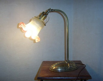Antique French table lamp around 1910-1920
