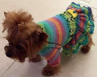 Pet Clothing, sweaters for dogs, pet sweater, pet dress