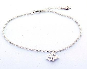 Sterling Silver Ankle Bracelet (925B478)