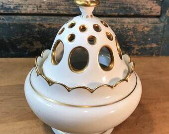 Heutschenreuther Porcelain Pomander Bowl