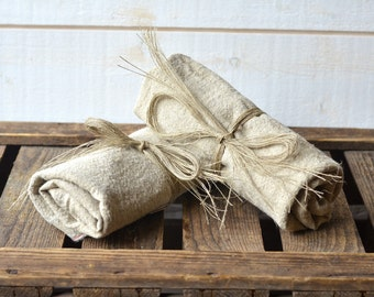 Linen Tea towel set of 2, Linen Dish Towel, French towels, hostess gifts, organic linen towels, shabby chic kitchen, eco friendly linen