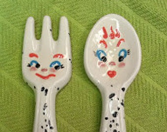 Fork and Spoon Rest