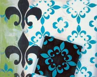 Ann Butler: Fleur de Lis pattern 2