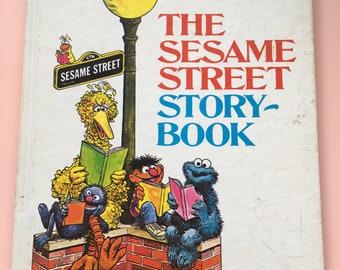1971 The Sesame Street Story Book hardcover - Random House - Children's Television Network - Jim Henson - The Muppets - Big Bird