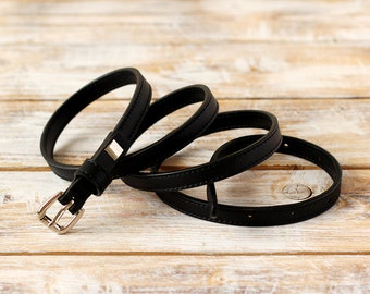 FREE SHIPPING | Black belt, black vegan belt, faux leather belt, vegan belt, eco leather belt, womens belt, black waist belt, gift for her