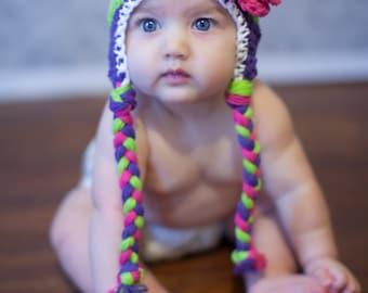 baby hat, girls hat, newborn girl hat, baby hat, little girls hat, baby girl hat, crochet baby hat, kids hat, crochet kids hat, girls hat