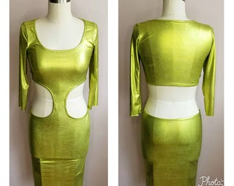 """Bodycon """"EUROPA"""" cut out midi dress MANY colors available"""