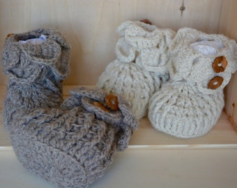 Ankle boots, baby ankle boots, winter booties, 100% Alpaca, baby Gift