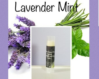 Lavender mint lip balm (tube)