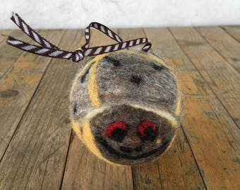 Box Turtle 1 , Felted Wool Toy Sculpture