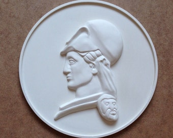 3d White Wall sculpture decor,art nouveu home decor,free shipping