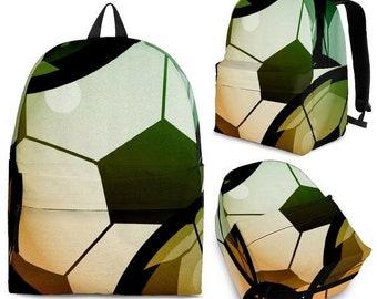 LOVE SOCCER Backpacks for the Whole Family - Soccer Moms, Soccer Dads, Team Backpack, ALL Fans
