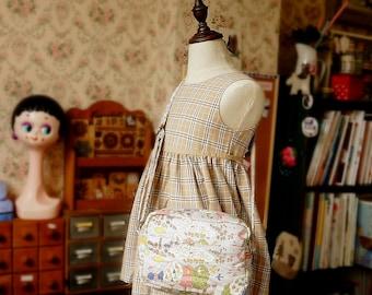 Japanese Handmade Shoulder Messenger Bag for girl and kids