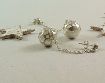 Earrings Bell and Dandelion's heart