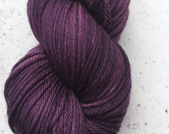 Sparkle Sock Yarn, Plum