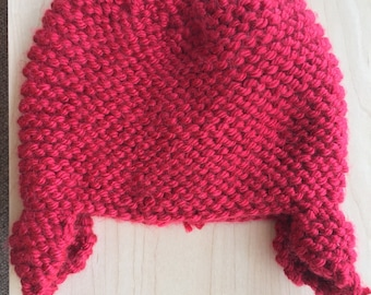 Child's Winter Hat with Ear Flaps
