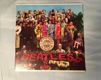 The Beatles - Sgt. Pepper's Lonely Hearts Club Band - Capitol Records SMAS 2653