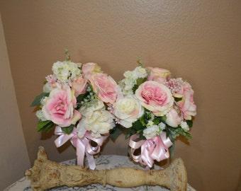 Bridal Bouquet, Bridesmaids  Bouquet, Wedding Bouquet, Wedding Flowers, Wedding Decor, Brides Bouquets, Ranunculus  Bouquet, Garden Bouquet