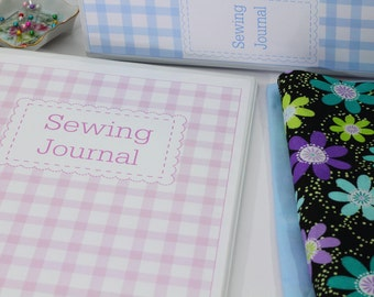 Printable Sewing Binder Set Sewing Journal Pages