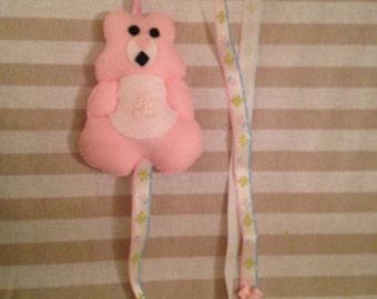 Hair clip holder, bear hair clip holder, stocking filler