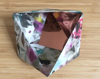 Paper Bowl Ornament || Flower Small