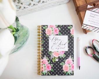 Prayer Journals / Soap Journal / Bible Study Notebook / Scripture Journal / Bless The Lord / Bible Verse Notebook /Scripture Writing Journal