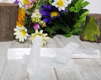 Selenite Sticks - Stone of Support and Guidance