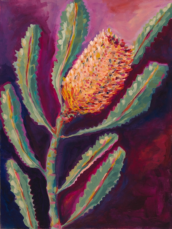 Banksia Love No.2 Archival Limited Edition Wall Art Print
