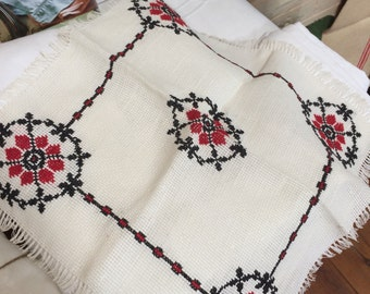 Set of two handmade placemats