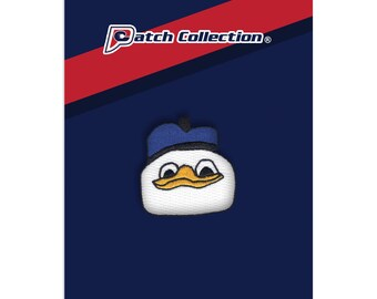 Dolan Duck Meme Iron On Sew On Applique Embroidered Patch