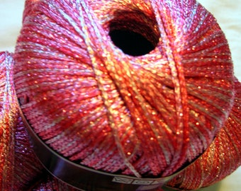 Shining Fancy Novelty Yarn, Himalaya Ishilti. in pink (10) DSH(P12AlQ)