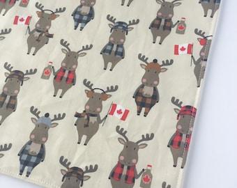 Baby Washcloth - Facecloth - Moose Washcloth - Bath & Beauty - Canada - Wash Cloth - Baby Shower Gift - Maple Syrup