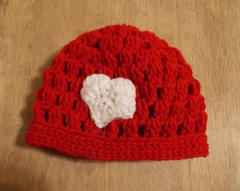 Valentine Heart hat
