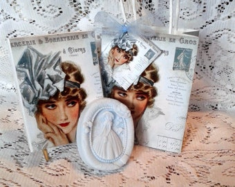 Lady in Blue  Soap Gift Set