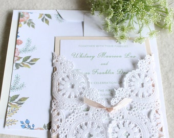 Anne of Green Gables/Garden Party Invitations for Wedding Showers, Birthdays and Baby Showers