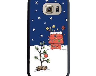 Charlie Brown Inspired Christmas Tree Phone Case! Choose Samsung Galaxy S5, S6, S6 Edge, S7, S7 Edge, S8 or S8 Plus.