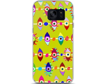 Colorful Eyes Samsung Case