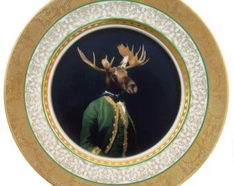 """Baron de Capreolinae Portrait Platte 10,65"""""""