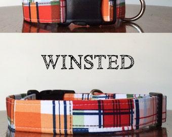 Windsted   Multiple Colors Plaid Handmade Collar