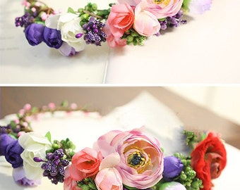 Best Seller :Multi Flower Head Crown