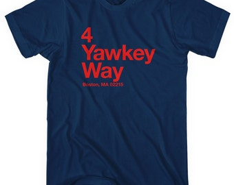 Boston Baseball Stadium T-shirt - Men and Unisex - XS S M L XL 2x 3x 4x - Boston Tee, Sports, Gift, Fan - 4 Colors