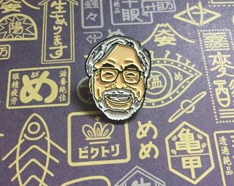 HAYAO MIYAZAKI Enamel Pin