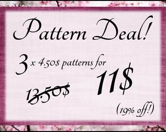 Super Pattern Deal! Amigurumi pattern deal! 19% off!