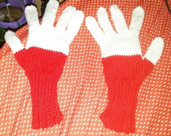 Winter gloves flag Poland for teenager