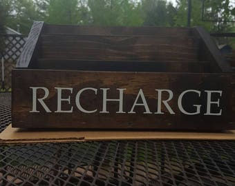 Rustic Family Size Docking/ Charging Station