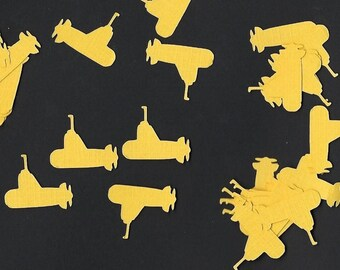 Yellow submarine Confetti- Table scatter- Birthday