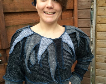 nice up cycled ladies pullover, Katwise inspired
