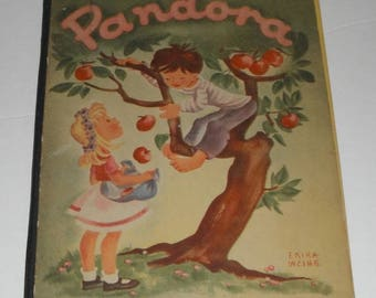 Pandora Retold by Mary Patric Vintage Pied Piper Books 1945