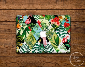 Exotic Macbook Air skin / Macbook Decal / Macbook Air Sticker / Stickers Macbook pro / Laptop sticker / Stickers laptop /floral print /EL029