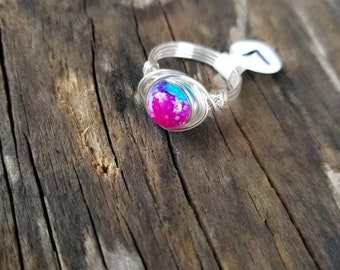 Wire wrap wring